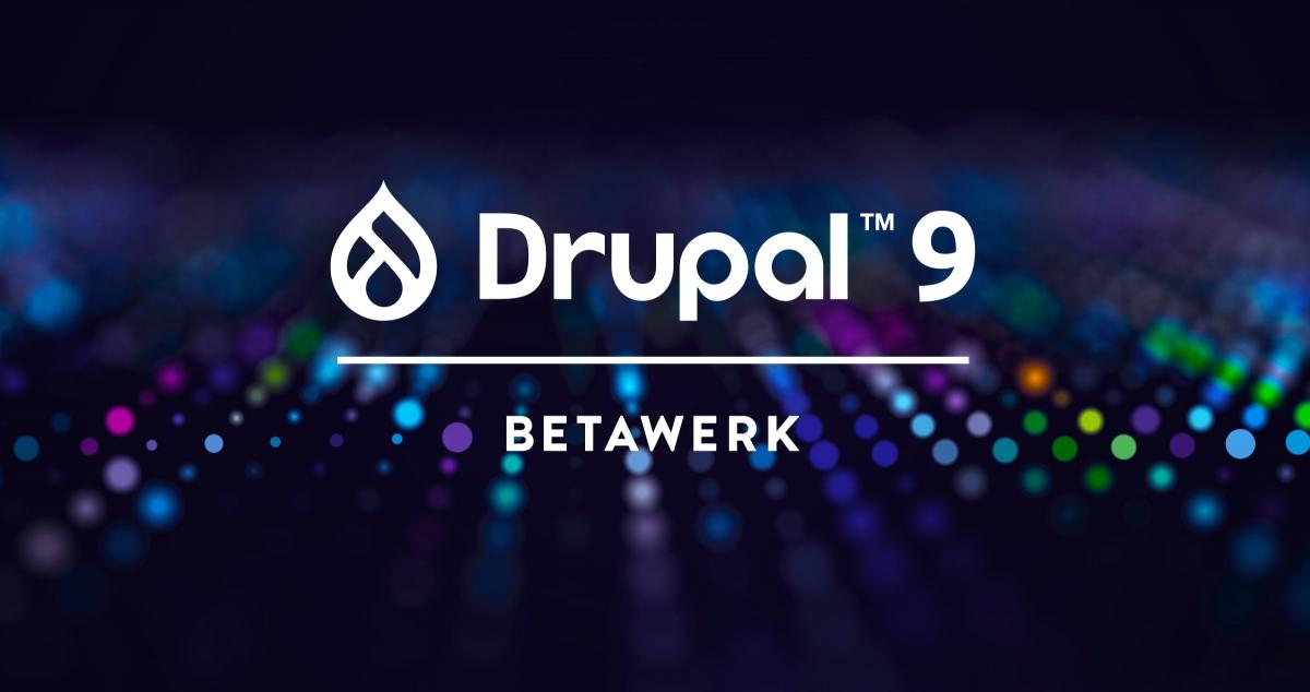 Upgrade naar Drupal 9 Betawerk