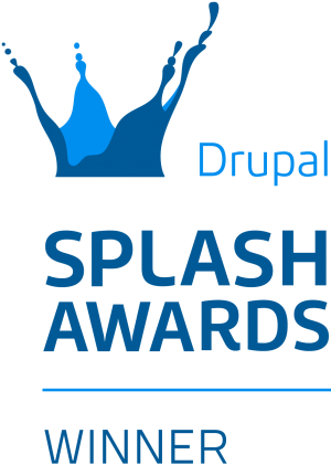 Drupal Splash Awards winner